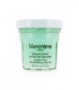 Maschera Viso Mousse Tea Verde e Cetriolo - Disintossicante - Blancrème - 40ml