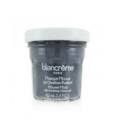 Maschera Viso Carbone Vegetale - Disintossicante - Blancrème - 40ml