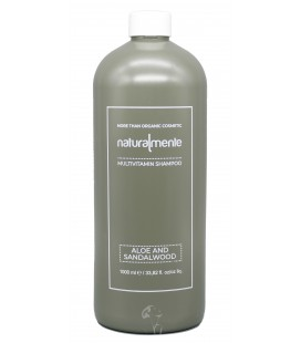 Shampoo Nature Inside Aloe e Sandalo Multivitaminico, Equilibrante – Aloe, Sandalwood – Naturalmente – 1000ml
