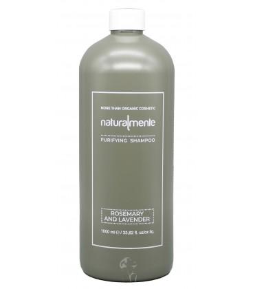 Shampoo Nature Inside Rosmarino e Lavanda – Rosemary, Lavender – Protettivo Cute - Naturalmente – 1000ml