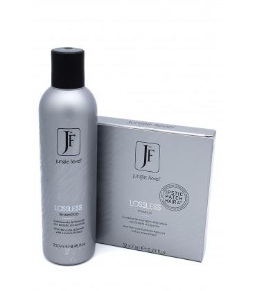 LOSSLESS Trattamento Anticaduta Completo con Estratto di Liquirizia Shampoo e Fiale - Jungle Fever