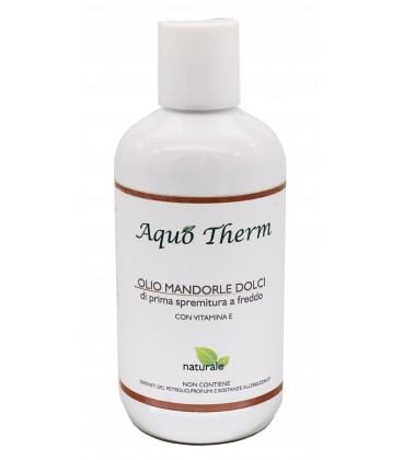 Olio Mandorle Dolci con vitamina E - Aquo Therm - 250ml