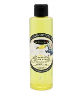 Olio Massaggio Vaniglia & Avocado - Elasticizzante Total Body - La Cremerie