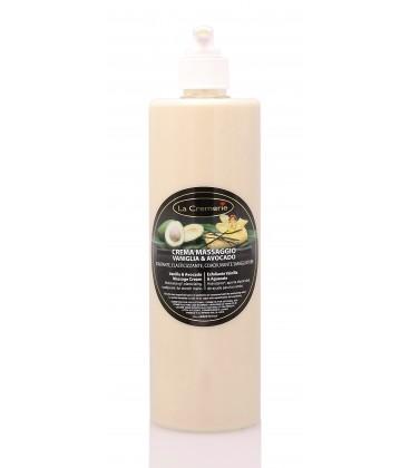 Crema corpo Vaniglia & Avocado - Idratante, Elasticizzante, Coadiuvante smagliature - La Cremerie - 500ml