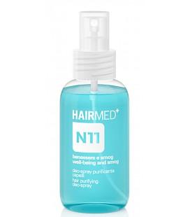 N11 Deo Spray Purificante Protegge i Capelli dallo Smog e Rimuove i Cattivi Odori, Iperidrosi - 100ml - Hairmed