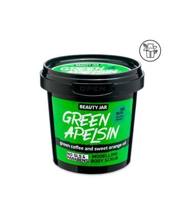 Scrub Corpo Modellante - Caffè Verde e Arancio - BautyJar - 200gr