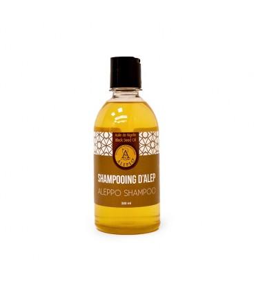 Shampoo naturale all'olio di semi neri di Aleppo - Alepeo - 350ml