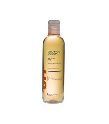 CRI - Shampoo Doccia Salsedine e Cloro ai Semi di Lino per corpo e capelli - Dott. Solari Cosmetics