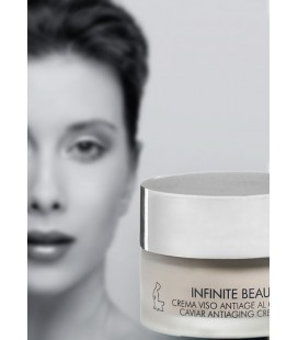 Infinite Beauty CAVIAR Crema Viso Antiage al Caviale - Kleraderm