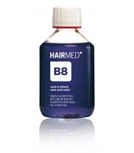 Shampoo B8 - Bagno eudermico per capelli bianchi - Anti Giallo - Hairmed