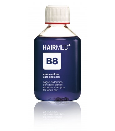 B8 - Bagno eudermico per capelli bianchi Hairmed